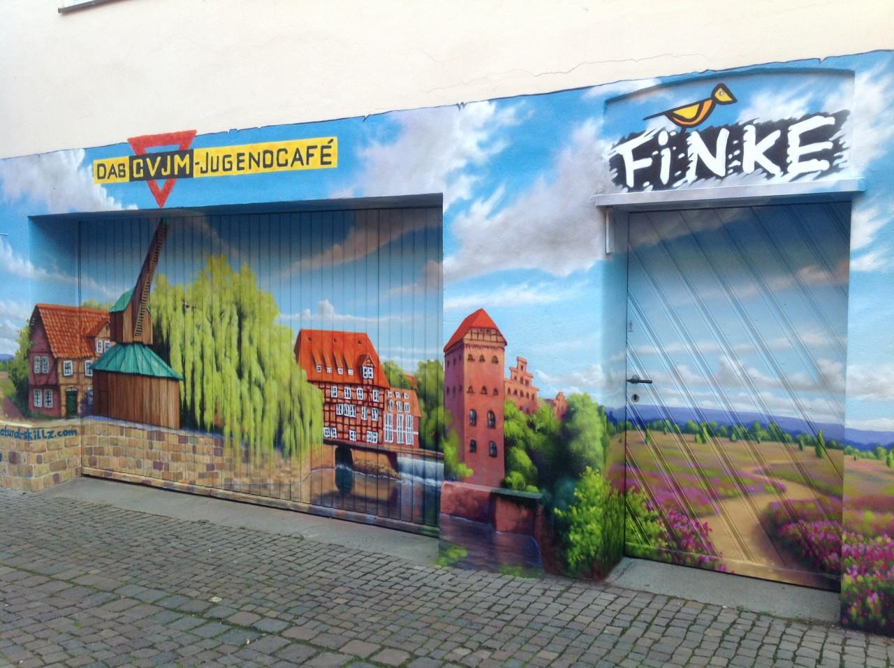 Finkstraße Graffiti